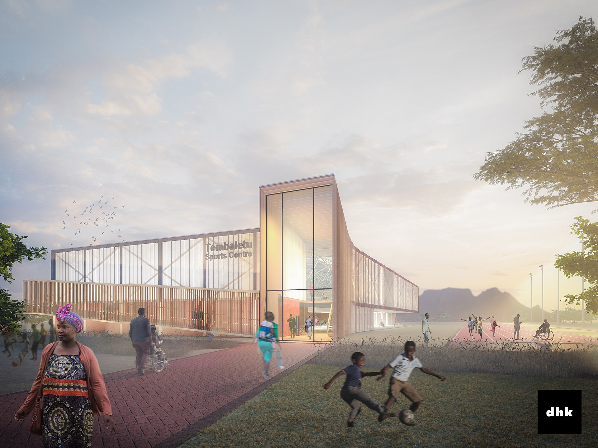 Tembaletu Sports Centre_dhk architects